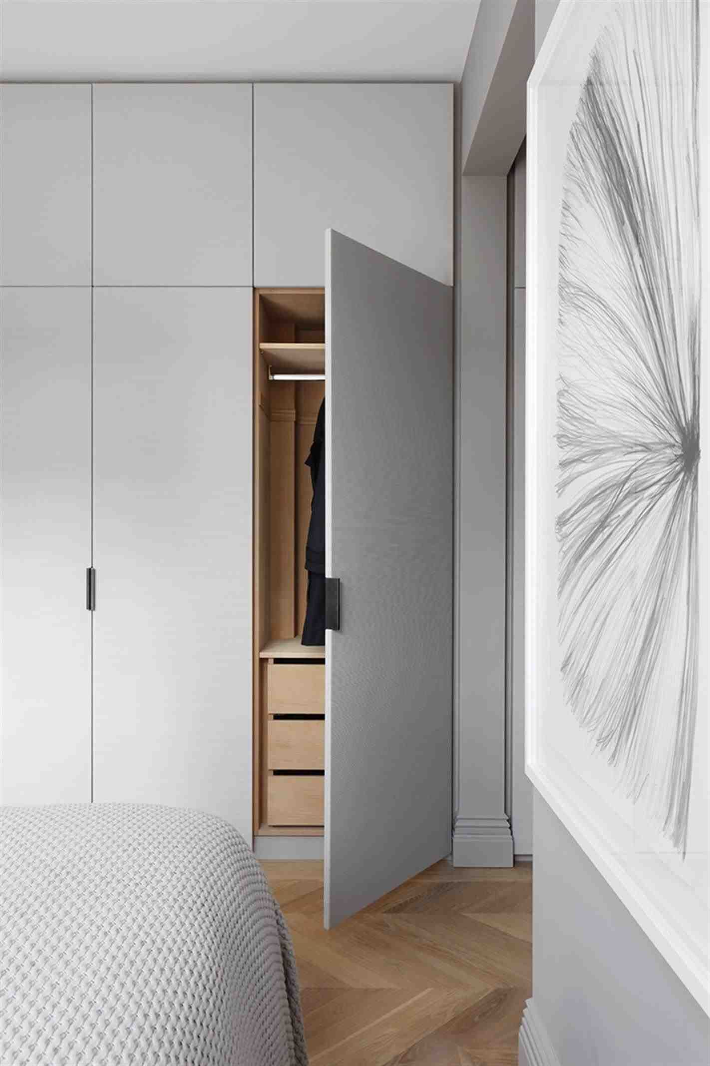 Loft bedroom fitted wardrobes  New Post modern closet cabinet design  Decors Ideas  Pinterest