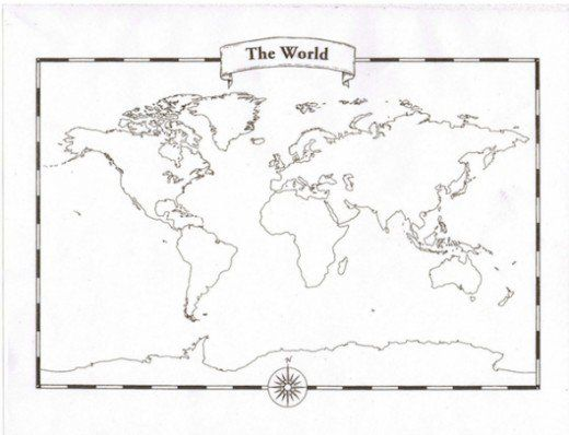 Looking For A Blank World Map Free Printable World Maps To Use In - World map blank for students