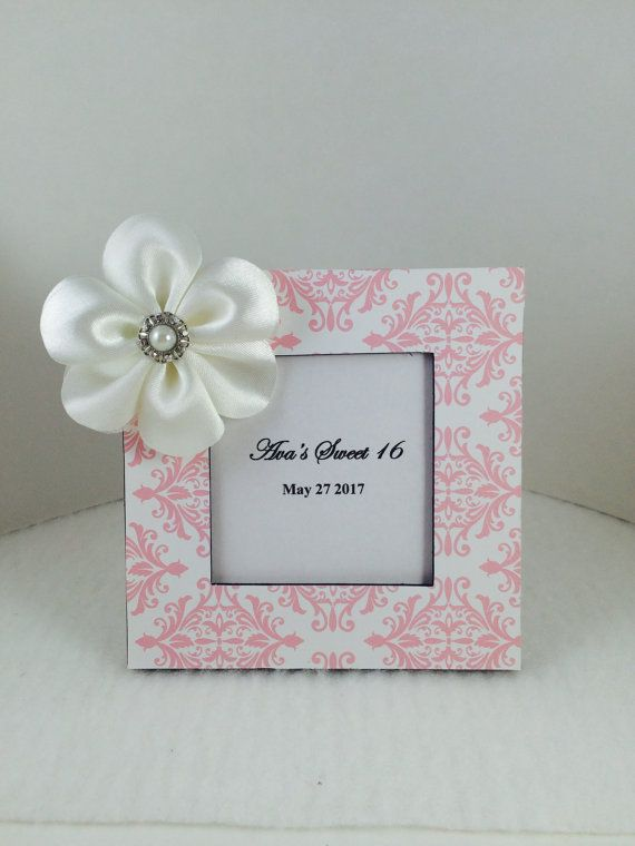 Sweet 16 Party Favor-Pink Lace Party Favor-custom party favor ...