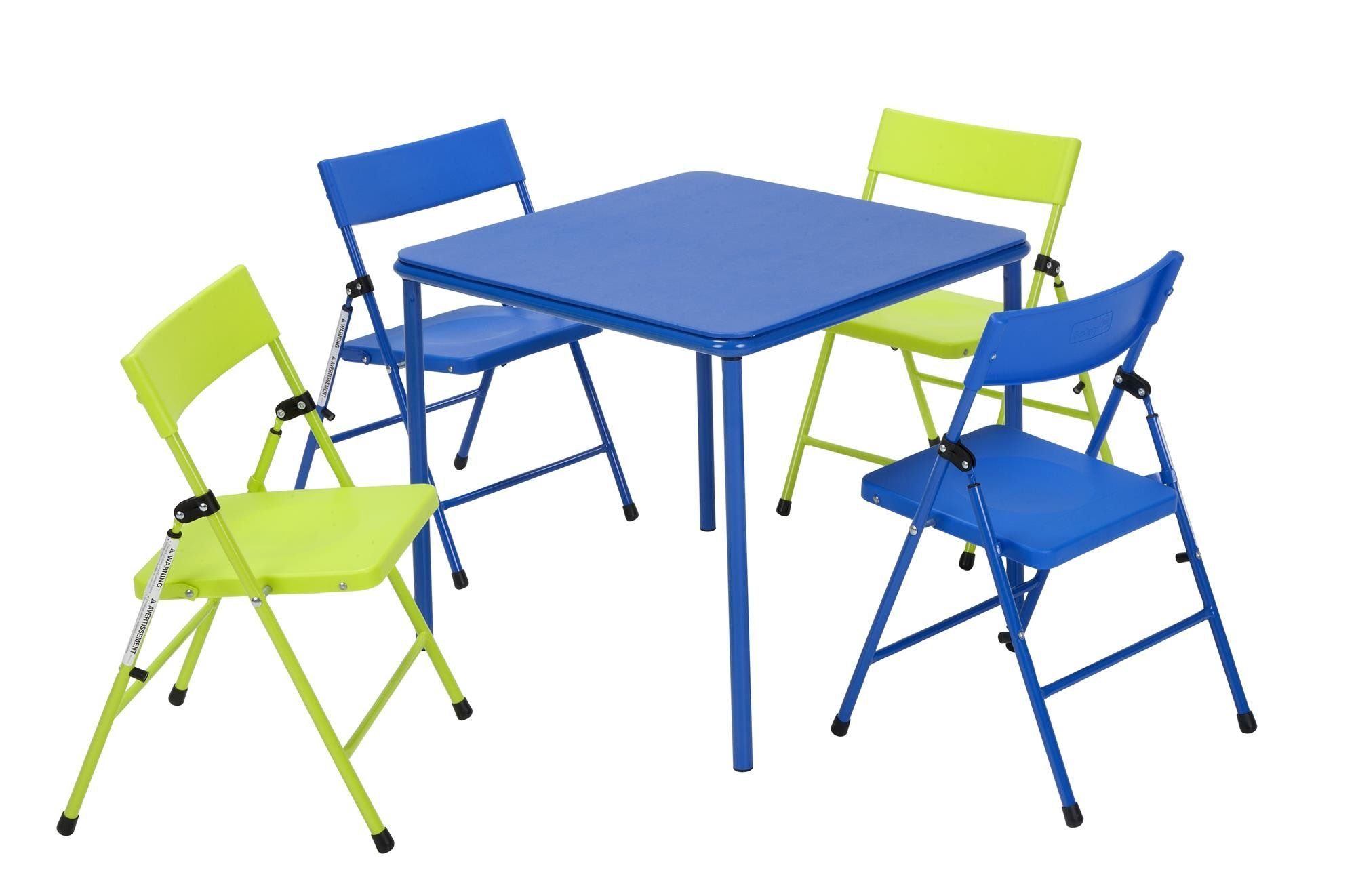 - Kids 5 Piece Square Table And Chair Set Kids Table And Chairs