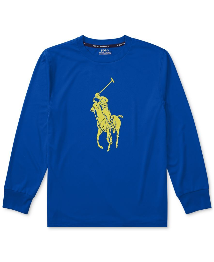86235f6a2bb2 Ralph Lauren Big Pony Long-Sleeve T-Shirt