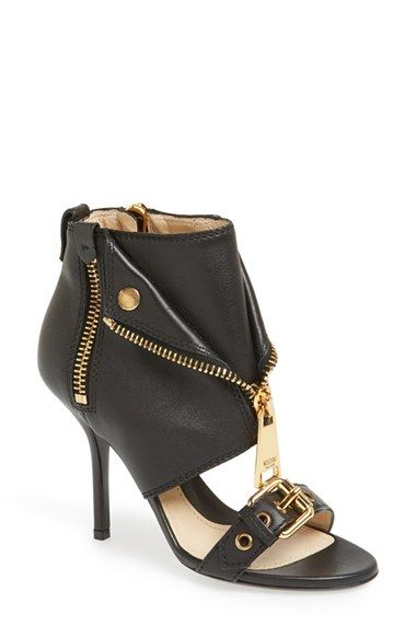 4bb4fe6ae3a4 Moschino  Moto Jacket  Italian Calfskin Sandal (Women) available at   Nordstrom