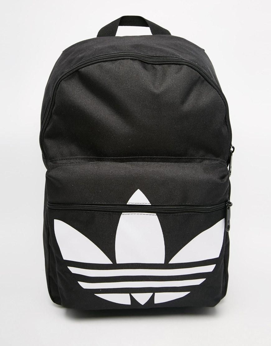 Adidas   adidas Originals Classic Backpack in Black at ASOS ... 57dc359d9d