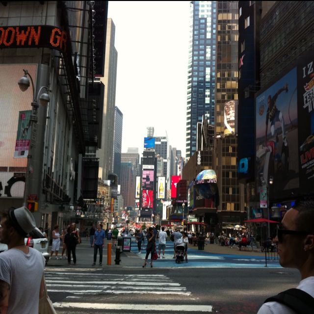New York City, Times Square. Loved it more than I ever thought I would.