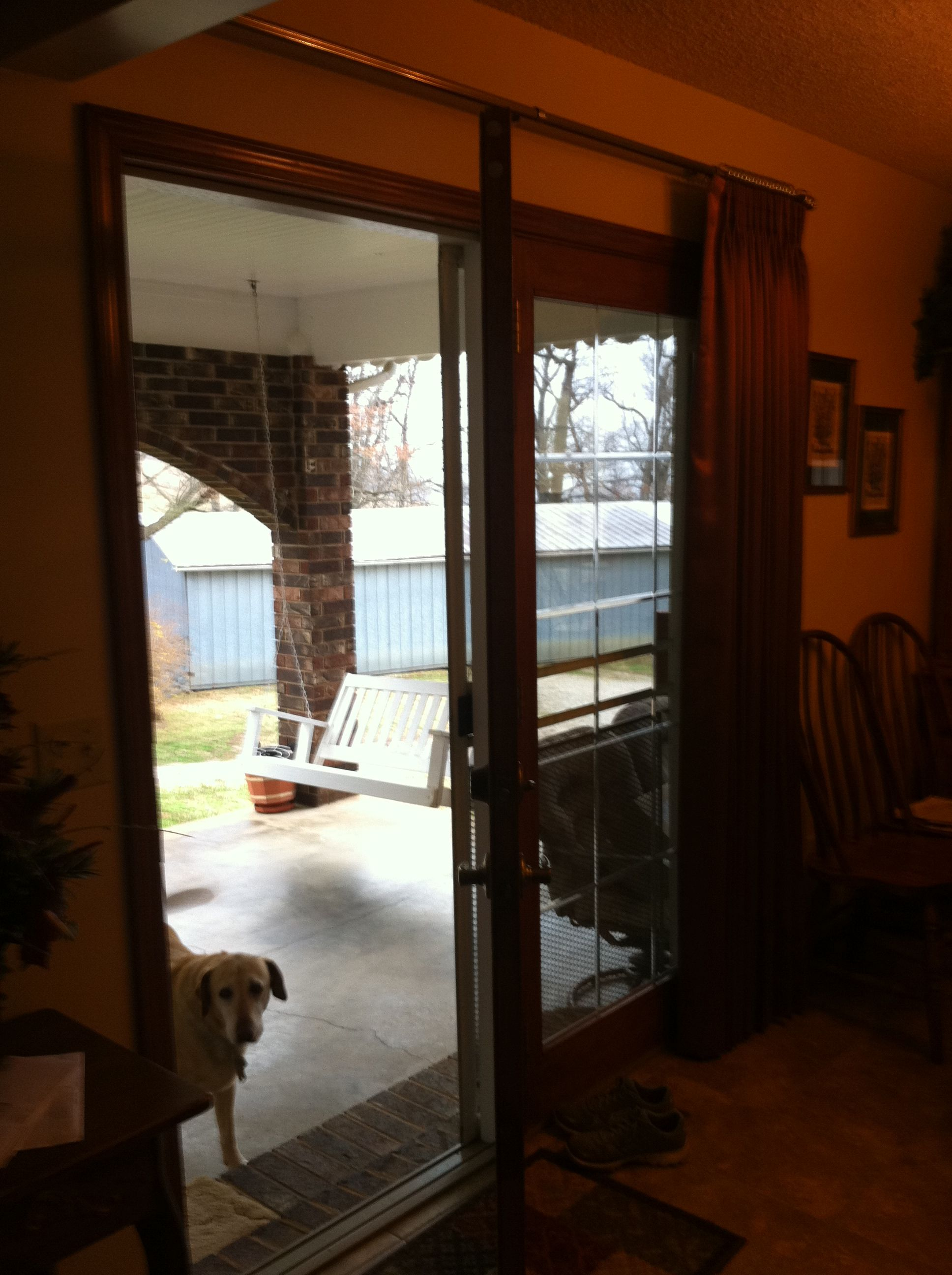 Patio Door Similiar To French Door But Only One Side