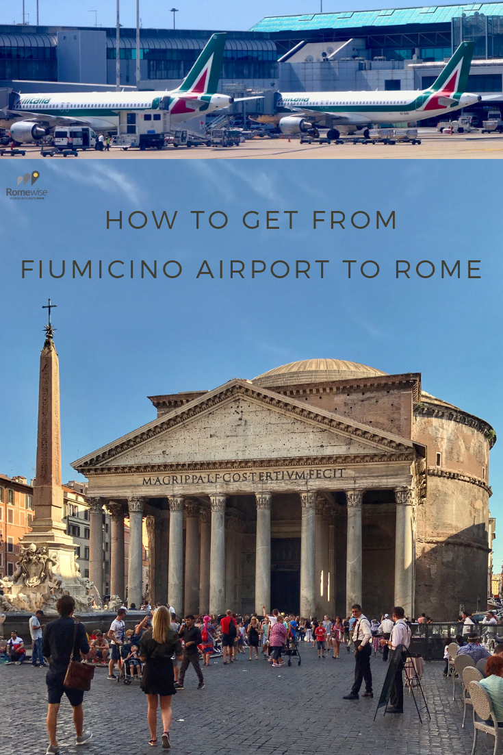 How Do You Get From Rome Airport To The City