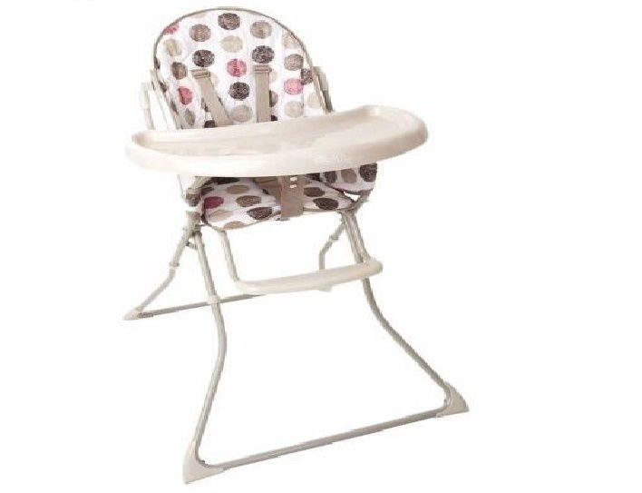 Baby High Chair Red Kite Feed Me Highchair,Cherry Truffle Contoured Padded  Seat