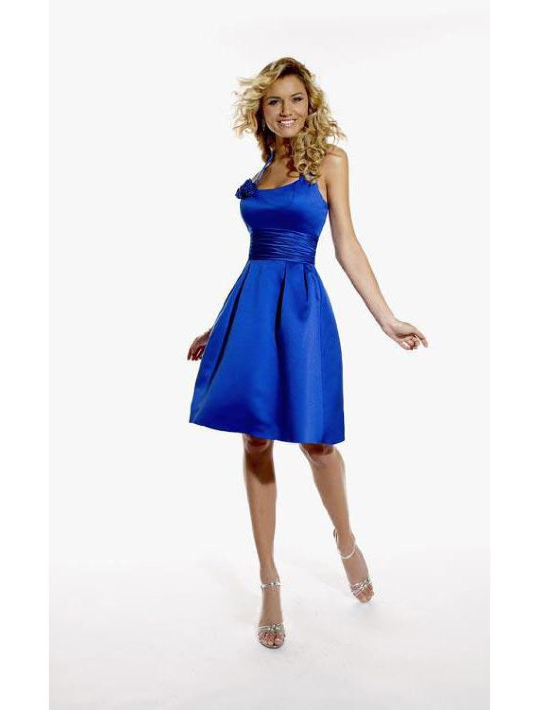 blaues kleid hochzeit pinterest