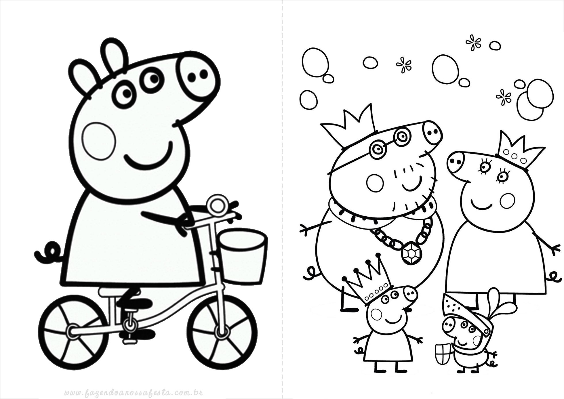 Pe peppa pig coloring pictures to print - Explore Peppa Pig Videos Peppa Pig Games And More