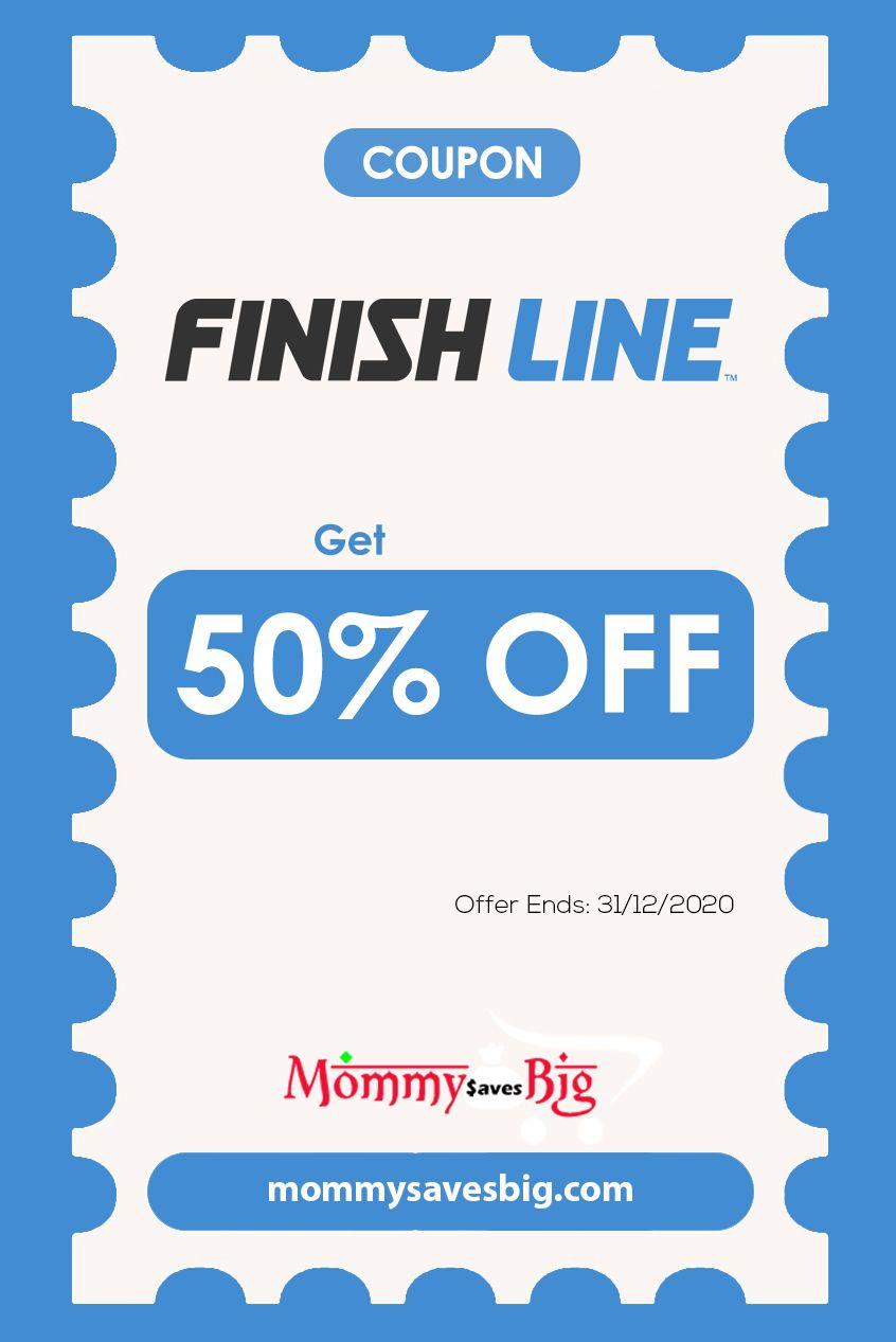 Finish Line Get 50 Off Money Saving Mom Mom Coupons Printable Coupons