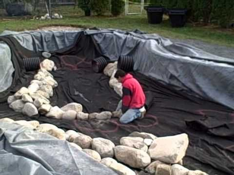 Swimming pool to pond conversion how to part 1 of 2 in - Duck repellent for swimming pools ...