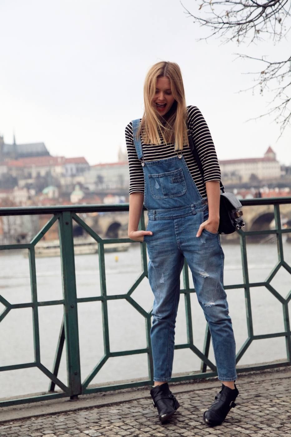 Bohemia ( Denim Jumpsuits & Booties & Ankle boots )