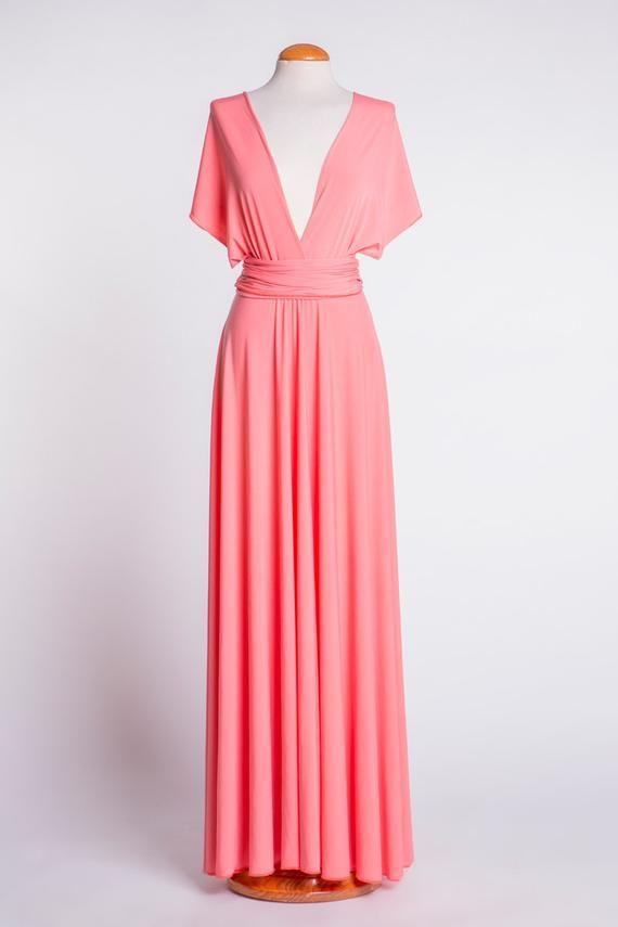60e5d4e71ab Tangerine infinity dress