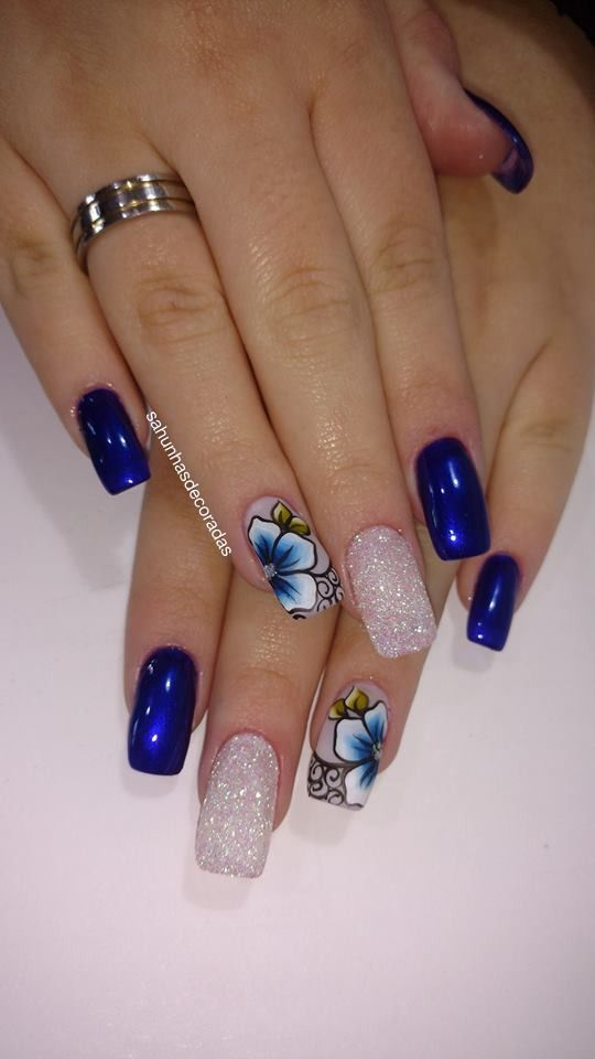 Top 82 Winter Inspired Nail Art Designs For 2019 Nails Pinterest
