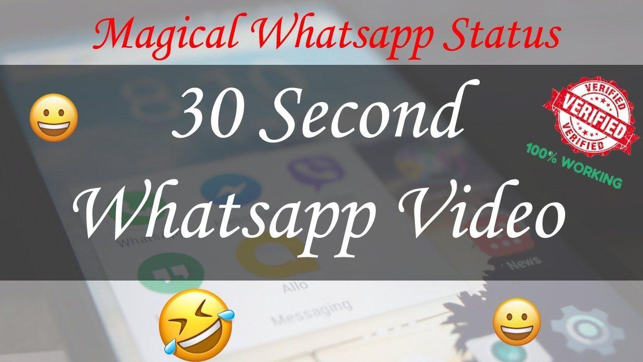 Fadu Status Whatsapp Video Status 30 Second Video