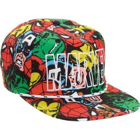 wholesale dealer 21879 50340 ... ireland mens marvel snapback hat multicolor 83e55 a90c8 ...