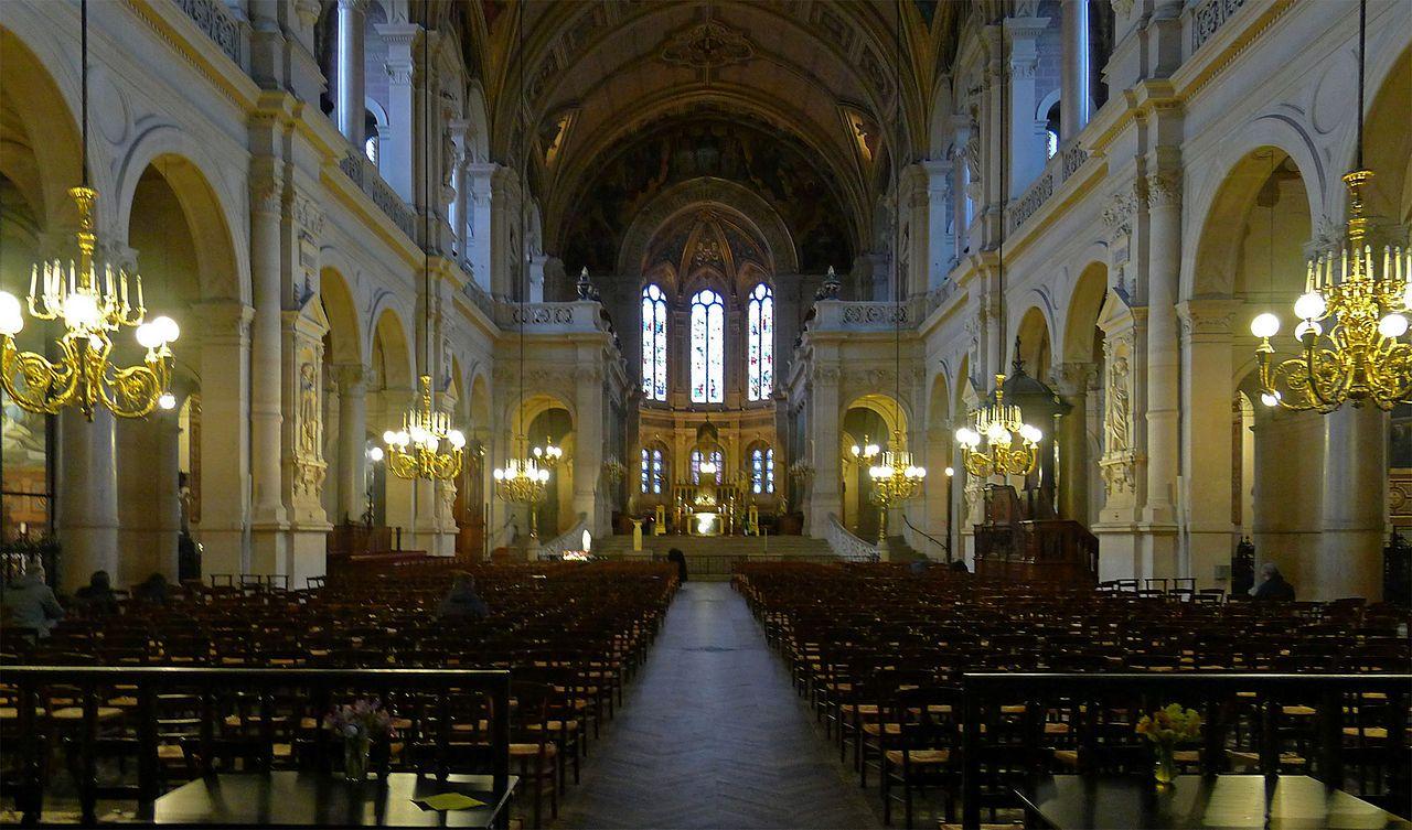 Nouvelle Athènes Sainte-Trinité de Paris — Wikipédia