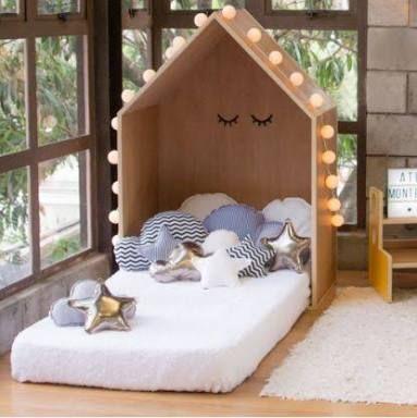 Resultado de imagen para cama montessori Cuarto Isa Pinterest