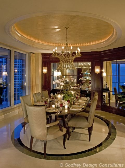 Naples Luxurious Dining  Godfrey Design Inc Home Decor Endearing Luxurious Dining Room Review