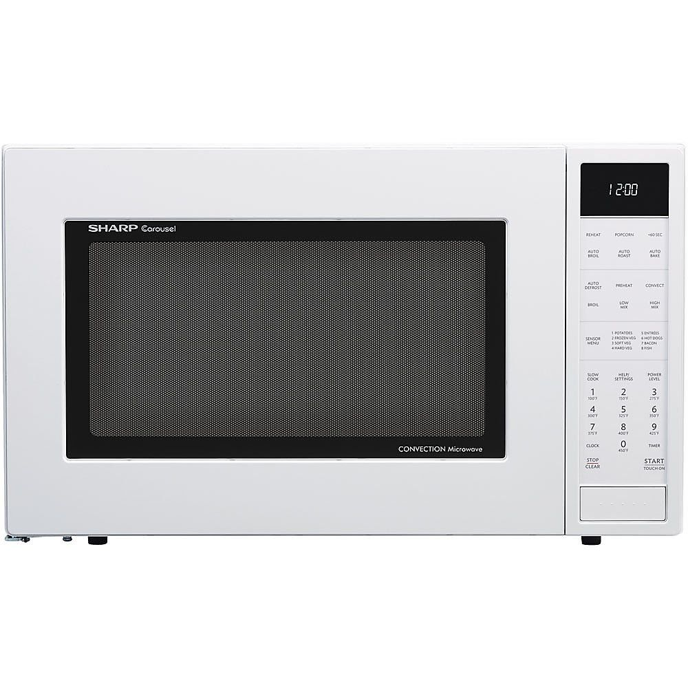 Roast Vegetables In Microwave Convection Oven: Sharp Convection Microwave Oven SMC1585BW