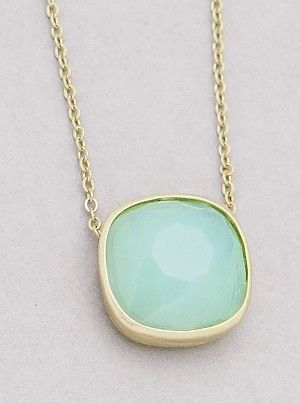 Adorn by Lulu- Simply Sweet Necklace in Ice Blue