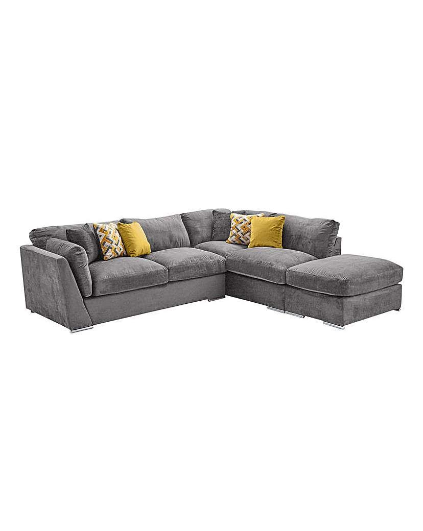 Rubix Right Hand Corner Group With Stool Corner Sofa Cushions Sofa Cushions Arrangement Cushions On Sofa