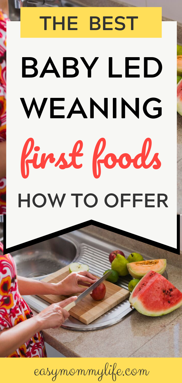 Baby Led Weaning First Foods: ​What To Offer