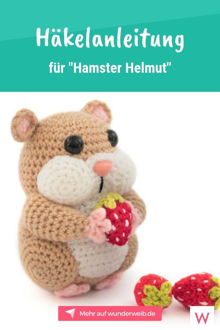 Häkelanleitung für einen Hamster | Wunderweib