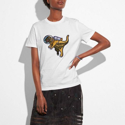 a139d458 Space Rexy T-Shirt Limited Clothing, Coach Leather Handbags, Fashion  Designers, Luxury