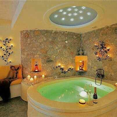 Jacuzzi By Dealxclusive Here At Www Dealxclusive Com Indoor Hot Tub Romantic Bathrooms Stylish Bathroom