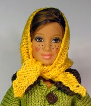 link to many patterns Sticka till barbie