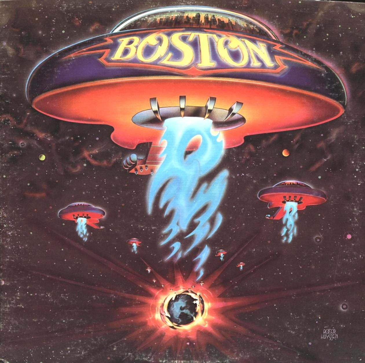 Photo of Boston ist das Debütalbum der amerikanischen Rockband Boston, rele …