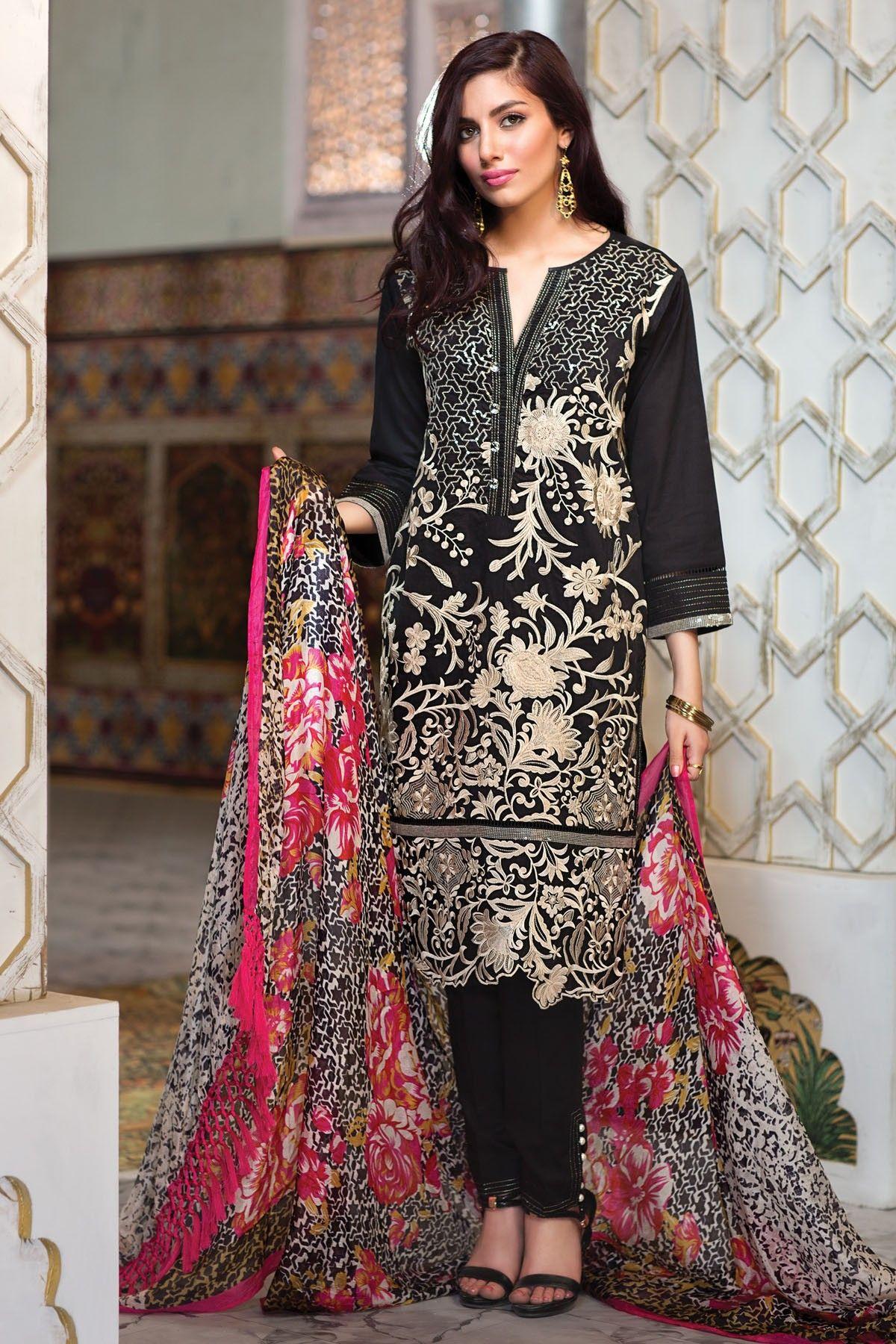 1481c9da2 Khaadi Lawn Chiffon Eid Dresses Designs Collection 2018-2019 ...
