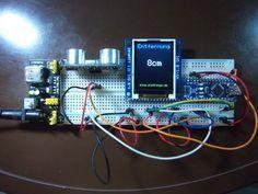 Arduino nano und der hc sr ultraschall entfernungssensor