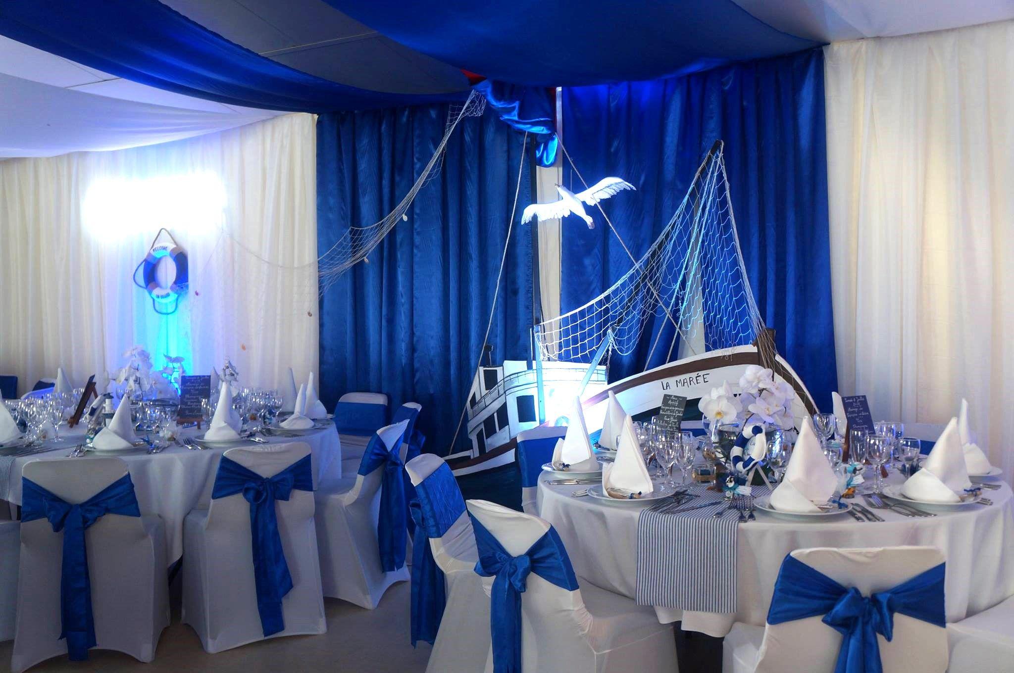 DECORATION MARIAGE THEME MER MARIN | Decoratrice mariage festidomi