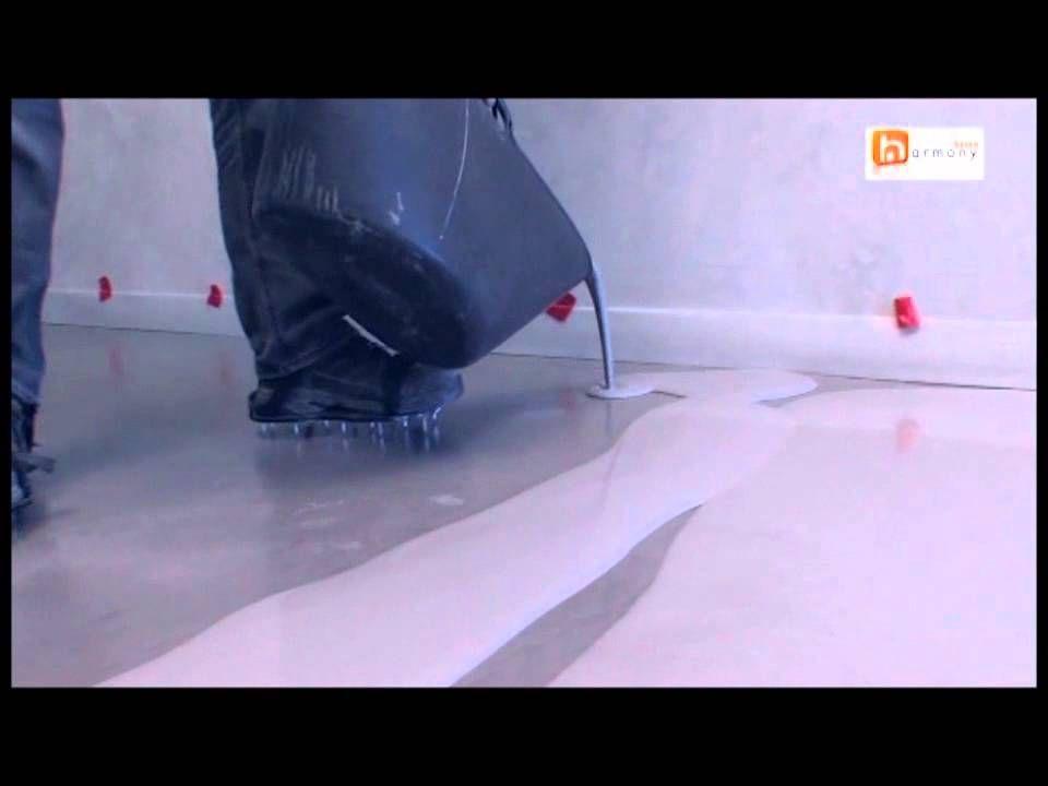 Ragréage + Béton ciré IDÉES pour GARAGE Pinterest - peinture sol sur ragreage