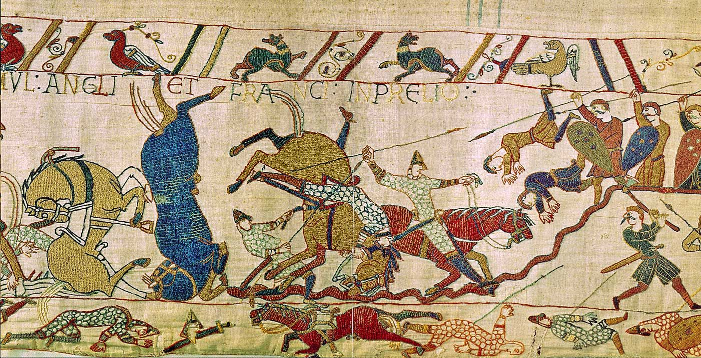 Teppich Von Bayeux Reading The Bayeux Tapestry Detail Miniature Arts Tapestry Bayeux