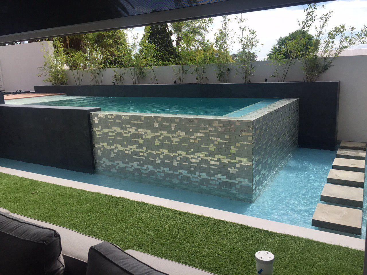 Pin by cheryl mckernan on renovation consepts concrete - Above ground concrete pool ...