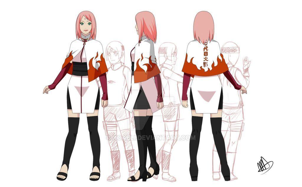 la hokage de konoha - akatsuki | kunoichi | Naruto uzumaki