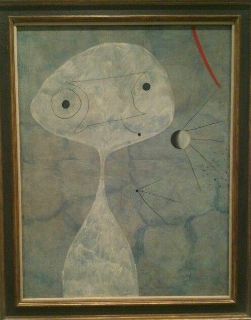 Joan Miró,Hombre con Pipa