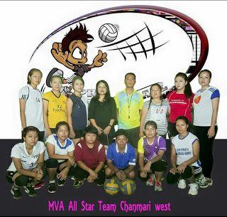All Star Womens Volleyball Match Awm Dawn Women Volleyball All Star Team All Star