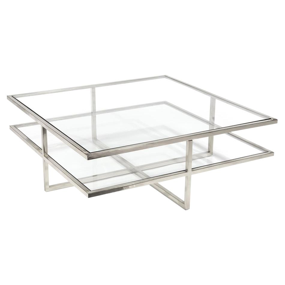 John Richard Modern Classic Polished Steel Glass Silver Frame Cocktail Table In 2021 Coffee Table Metal Furniture Outdoor Furniture Ideas Patio Chairs [ 950 x 950 Pixel ]