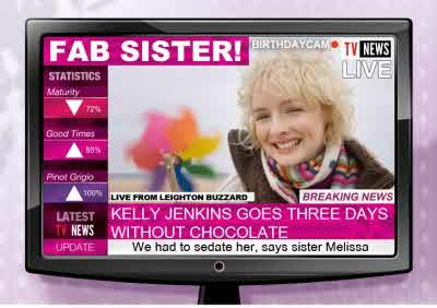 Let Your Sister Know She S Fab On Her Next Birthday Personalised