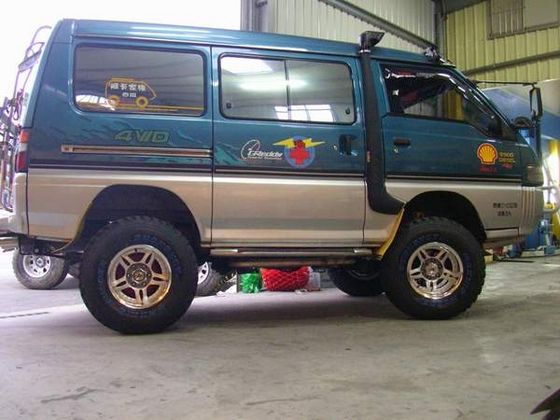 mitsubishi delica l300 07 image la camper pinterest 4x4 and cars. Black Bedroom Furniture Sets. Home Design Ideas