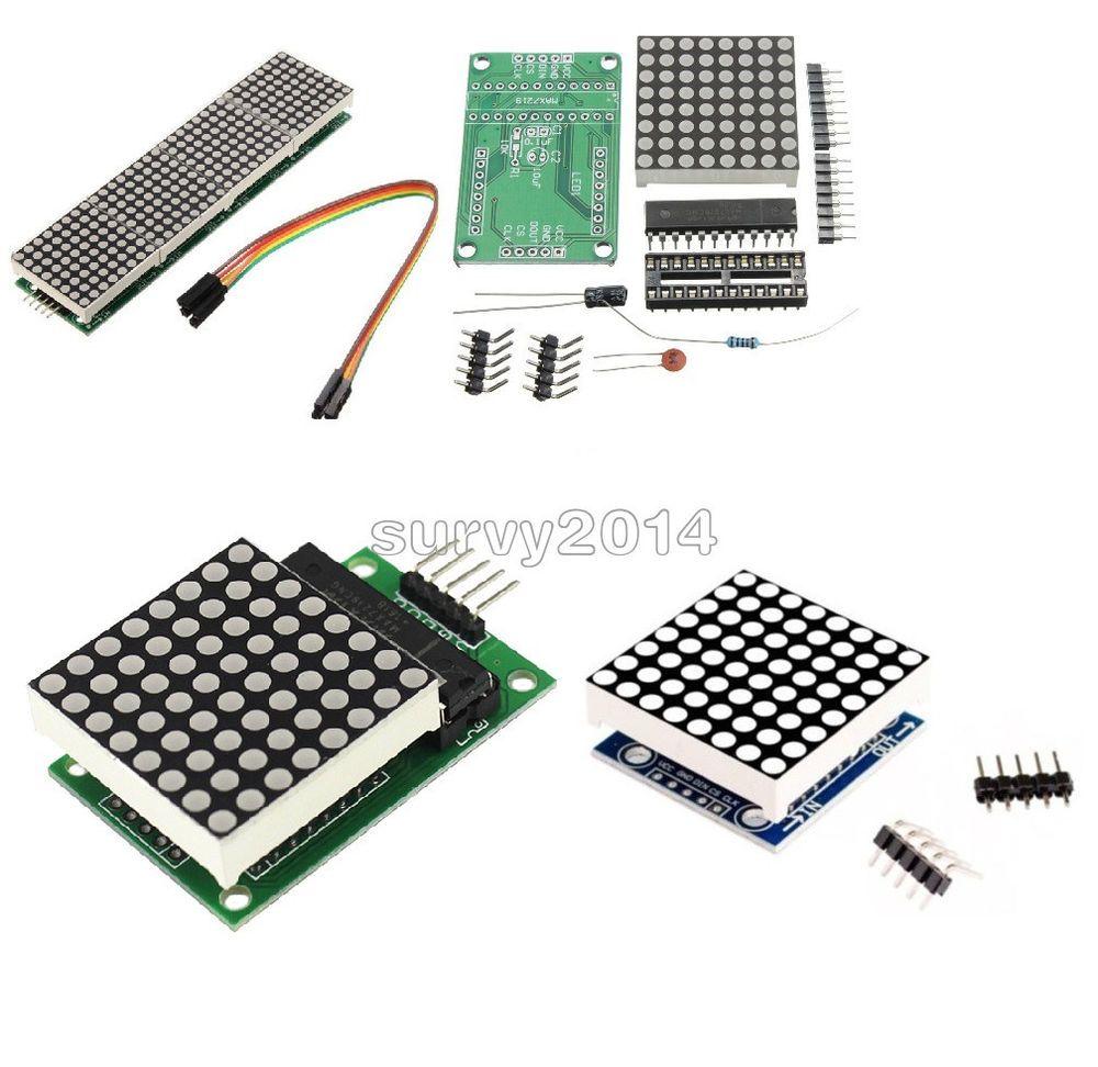 MAX7219 Blue led matrix MCU control LED Display module for Arduino Raspberry Pi