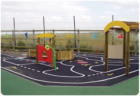 Outdoor Track School Playground