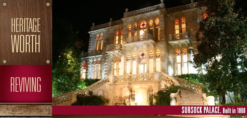 #SursockMuseum, officially known as the Nicolas Sursock #Museum is a great example of #Lebanese #Architecture, which has Italianate, specifically Venetian, and Ottoman architectural influences. Have you ever had the chance to visit this grand monument? #worthdoinglebanon #reviving #heritage #OldBeirut #Beirut #Lebanon