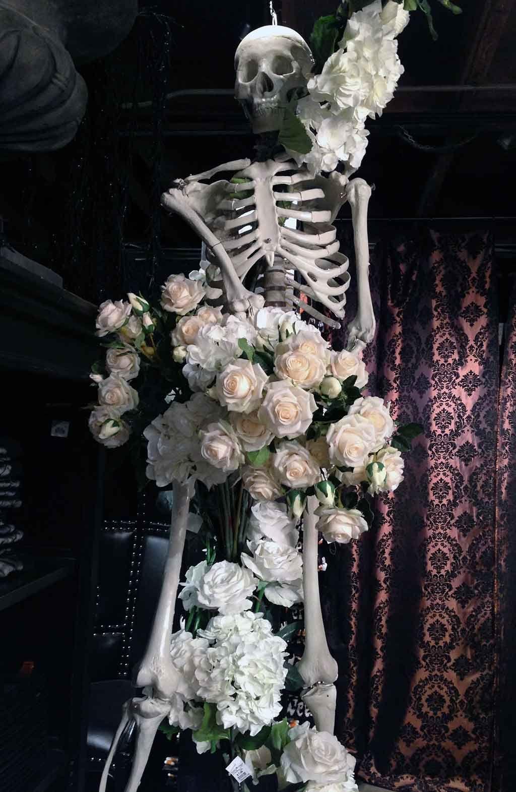 Behind the Curtain Hauntingly Beautiful Halloween 2014