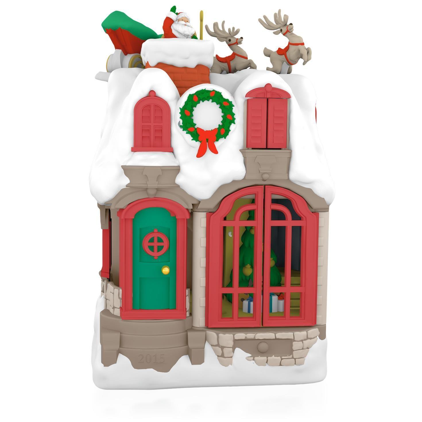 Rv ornament - Festive Santa Premium Porcelain Ornament