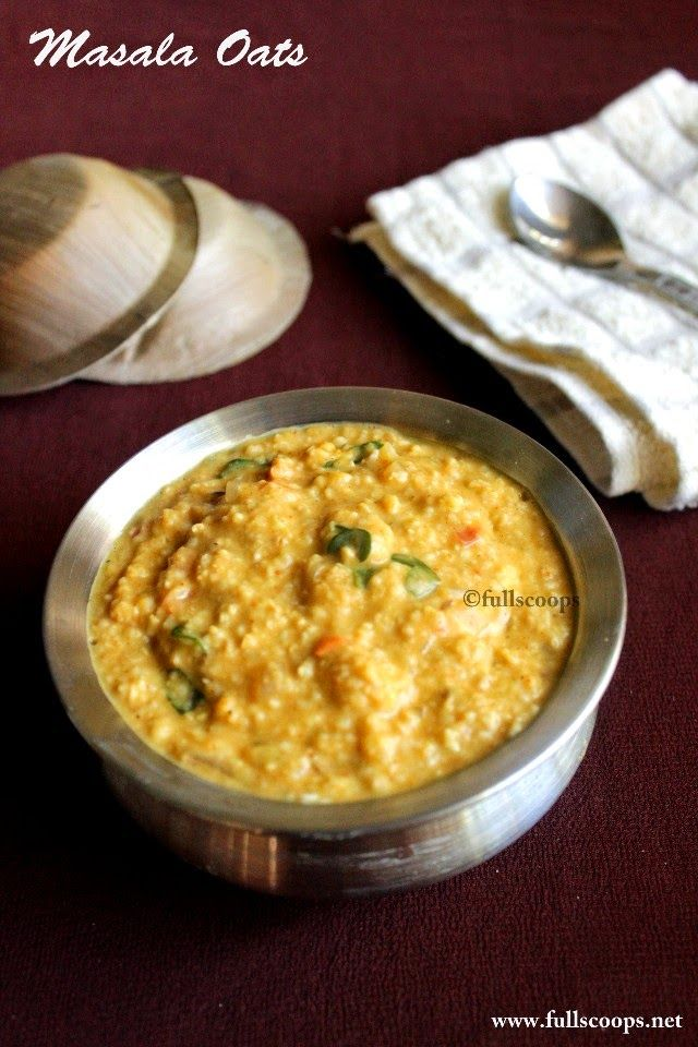 Masala oats quick recipes pinterest recipes food and full scoops masala oats recipe i loved this dish each morning while in india im determined to learn how to make it forumfinder Images
